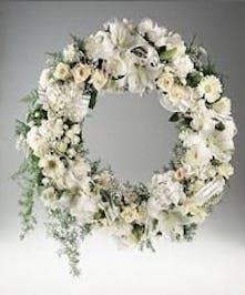 Features Casa Blanca lilies